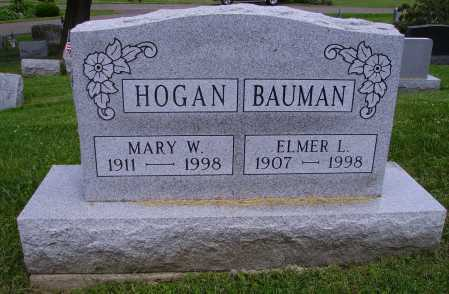 BAUMAN, ELMER L. - Stark County, Ohio | ELMER L. BAUMAN - Ohio Gravestone Photos