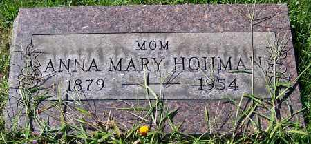 HOHMAN, ANNA MARY - Stark County, Ohio | ANNA MARY HOHMAN - Ohio Gravestone Photos