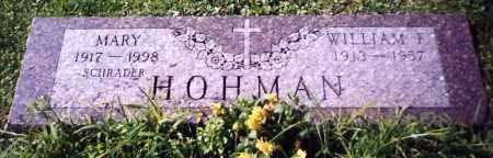 HOHMAN, MARY - Stark County, Ohio   MARY HOHMAN - Ohio Gravestone Photos