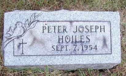 HOILES, PETER JOSEPH - Stark County, Ohio | PETER JOSEPH HOILES - Ohio Gravestone Photos