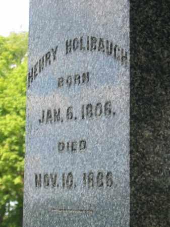 HOLIBAUGH, HENRY - Stark County, Ohio | HENRY HOLIBAUGH - Ohio Gravestone Photos