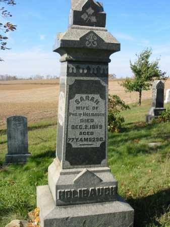 HOLIBAUGH, SARAH - Stark County, Ohio   SARAH HOLIBAUGH - Ohio Gravestone Photos