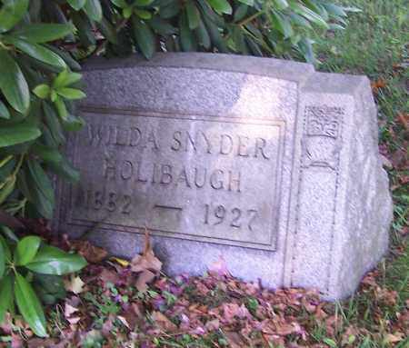 SNYDER HOLIBAUGH, WILDA SNYDER - Stark County, Ohio | WILDA SNYDER SNYDER HOLIBAUGH - Ohio Gravestone Photos