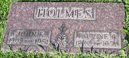 HOLMES, PAULINE B. - Stark County, Ohio | PAULINE B. HOLMES - Ohio Gravestone Photos