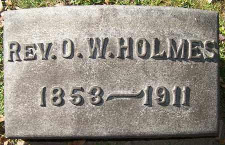 HOLMES, REV. O.W. - Stark County, Ohio | REV. O.W. HOLMES - Ohio Gravestone Photos
