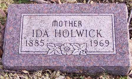 HOLWICK, IDA - Stark County, Ohio | IDA HOLWICK - Ohio Gravestone Photos