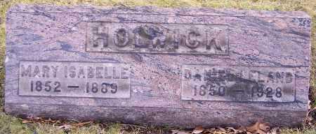 HOLWICK, MARY ISABELLE - Stark County, Ohio | MARY ISABELLE HOLWICK - Ohio Gravestone Photos