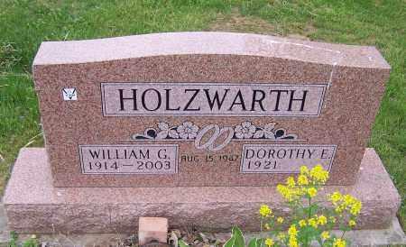 HOLZWARTH, WILLIAM G. - Stark County, Ohio | WILLIAM G. HOLZWARTH - Ohio Gravestone Photos
