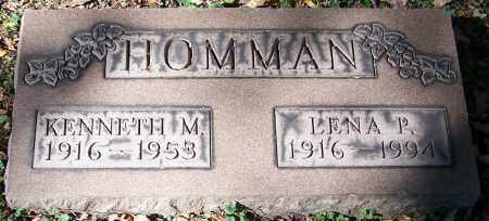 HOMMAN, LENA P. - Stark County, Ohio | LENA P. HOMMAN - Ohio Gravestone Photos