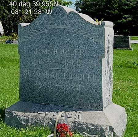 HOOBLER, JAMES MADISON - Stark County, Ohio | JAMES MADISON HOOBLER - Ohio Gravestone Photos