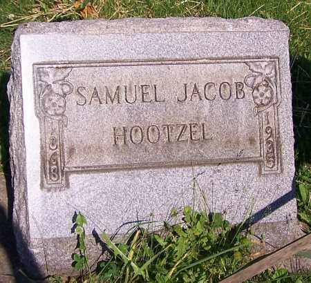 HOOTZEL, SAMUEL JACOB - Stark County, Ohio   SAMUEL JACOB HOOTZEL - Ohio Gravestone Photos