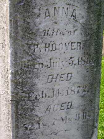 ALLBRIGHT HOOVER, ANNA - Stark County, Ohio   ANNA ALLBRIGHT HOOVER - Ohio Gravestone Photos