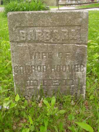 HOOVER, BARBARA - Stark County, Ohio   BARBARA HOOVER - Ohio Gravestone Photos