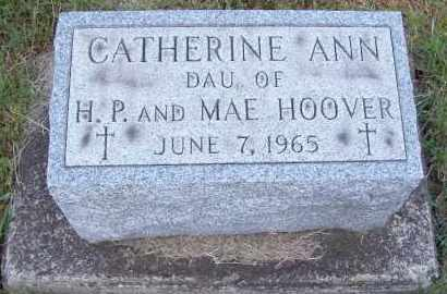 HOOVER, CATHERINE ANN - Stark County, Ohio | CATHERINE ANN HOOVER - Ohio Gravestone Photos