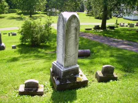 HOOVER, FAMILY MONUMENT - Stark County, Ohio | FAMILY MONUMENT HOOVER - Ohio Gravestone Photos