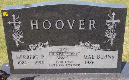 BURNS HOOVER, MAE - Stark County, Ohio | MAE BURNS HOOVER - Ohio Gravestone Photos