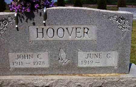 CARMAN HOOVER, JUNE G. - Stark County, Ohio | JUNE G. CARMAN HOOVER - Ohio Gravestone Photos