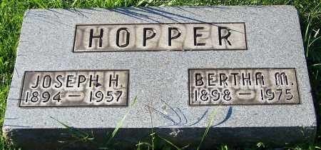 HOPPER, BERTHA M. - Stark County, Ohio   BERTHA M. HOPPER - Ohio Gravestone Photos
