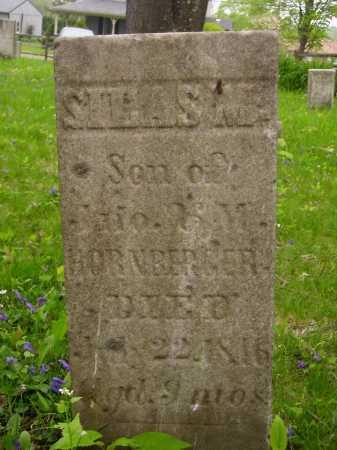 HORNBERGER, SILAS M. - Stark County, Ohio | SILAS M. HORNBERGER - Ohio Gravestone Photos