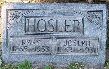 HOSLER, MARY - Stark County, Ohio | MARY HOSLER - Ohio Gravestone Photos