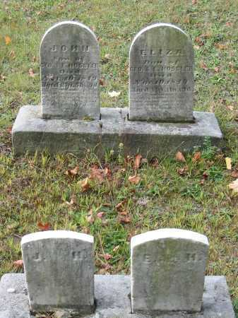 HOSSLER, ELIZA - Stark County, Ohio   ELIZA HOSSLER - Ohio Gravestone Photos