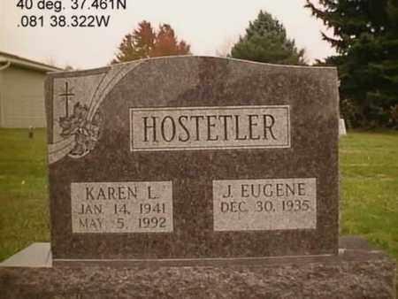 SALMON HOSTETLER, KAREN LEE - Stark County, Ohio | KAREN LEE SALMON HOSTETLER - Ohio Gravestone Photos
