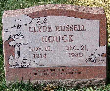 HOUCK, CLYDE RUSSELL - Stark County, Ohio | CLYDE RUSSELL HOUCK - Ohio Gravestone Photos