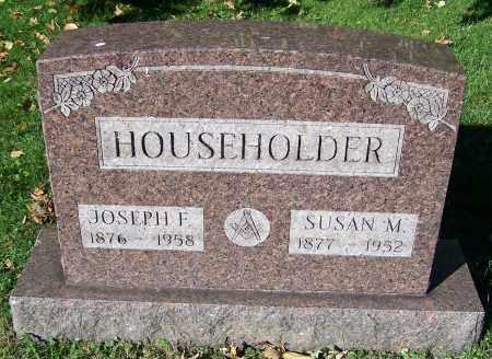 HOUSEHOLDER, JOSEPH F. - Stark County, Ohio | JOSEPH F. HOUSEHOLDER - Ohio Gravestone Photos