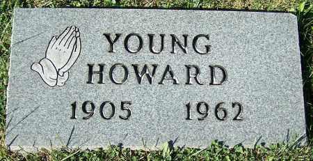 HOWARD, YOUNG - Stark County, Ohio | YOUNG HOWARD - Ohio Gravestone Photos