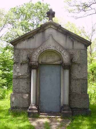 HOWELLS-EVANS, MAUSOLEUM - Stark County, Ohio   MAUSOLEUM HOWELLS-EVANS - Ohio Gravestone Photos
