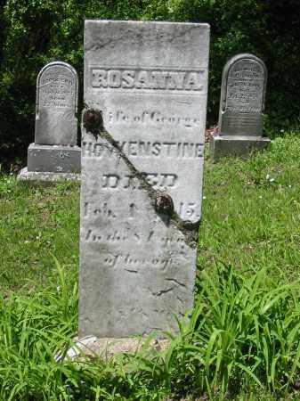 BLATTENBERGER HOWENSTINE, ANNA ROSINA - Stark County, Ohio | ANNA ROSINA BLATTENBERGER HOWENSTINE - Ohio Gravestone Photos