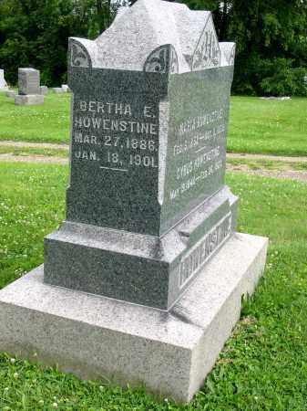 HOWENSTINE, BERTHA E - Stark County, Ohio   BERTHA E HOWENSTINE - Ohio Gravestone Photos