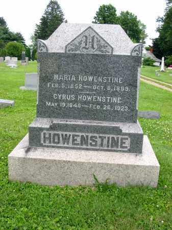 HOWENSTINE, MARIA - Stark County, Ohio   MARIA HOWENSTINE - Ohio Gravestone Photos