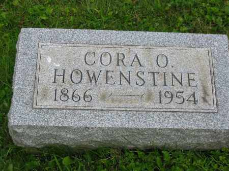 HOWENSTINE, CORA O - Stark County, Ohio | CORA O HOWENSTINE - Ohio Gravestone Photos