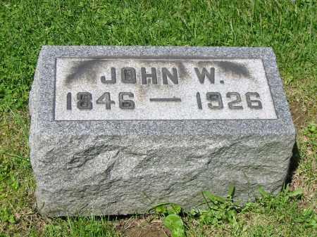 HOWENSTINE, JOHN W - Stark County, Ohio   JOHN W HOWENSTINE - Ohio Gravestone Photos