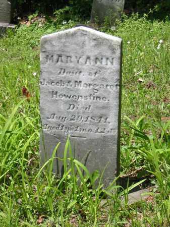 HOWENSTINE, MARY ANN - Stark County, Ohio | MARY ANN HOWENSTINE - Ohio Gravestone Photos