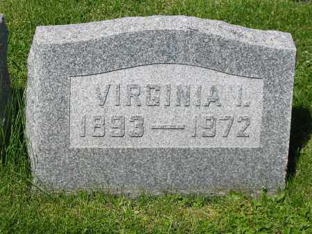 HOWENSTINE, VIRGINIA I - Stark County, Ohio | VIRGINIA I HOWENSTINE - Ohio Gravestone Photos