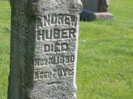 HUBER, ANDREW - Stark County, Ohio | ANDREW HUBER - Ohio Gravestone Photos