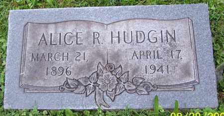 HUDGIN, ALICE R. - Stark County, Ohio | ALICE R. HUDGIN - Ohio Gravestone Photos
