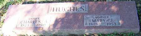 HUGHES, MARY J. - Stark County, Ohio | MARY J. HUGHES - Ohio Gravestone Photos