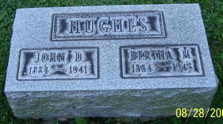 HUGHES, BERTHA M. - Stark County, Ohio | BERTHA M. HUGHES - Ohio Gravestone Photos
