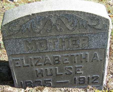 HULSE, ELIZABETH A. - Stark County, Ohio | ELIZABETH A. HULSE - Ohio Gravestone Photos