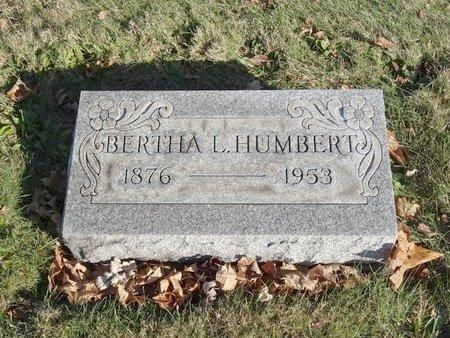 HUMBERT, BERTHA L. - Stark County, Ohio | BERTHA L. HUMBERT - Ohio Gravestone Photos
