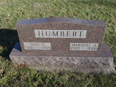 HUMBERT, DON G. - Stark County, Ohio   DON G. HUMBERT - Ohio Gravestone Photos
