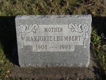 HUMBERT, MARJORIE I. - Stark County, Ohio | MARJORIE I. HUMBERT - Ohio Gravestone Photos