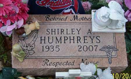 HUMPHREYS, SHIRLEY A. - Stark County, Ohio | SHIRLEY A. HUMPHREYS - Ohio Gravestone Photos