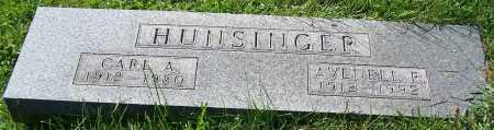 HUNSINGER, AVENELL P. - Stark County, Ohio | AVENELL P. HUNSINGER - Ohio Gravestone Photos