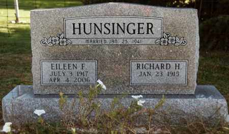 HUNSINGER, RICHARD HARRY - Stark County, Ohio | RICHARD HARRY HUNSINGER - Ohio Gravestone Photos