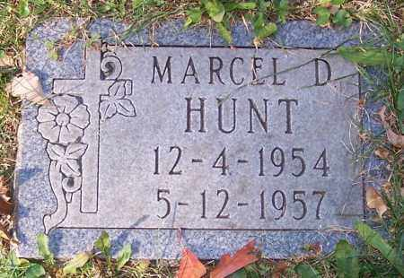 HUNT, MARCEL D. - Stark County, Ohio | MARCEL D. HUNT - Ohio Gravestone Photos