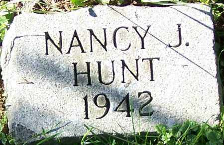 HUNT, NANCY J. - Stark County, Ohio | NANCY J. HUNT - Ohio Gravestone Photos